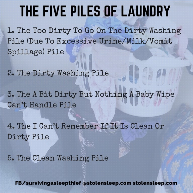 the five piles