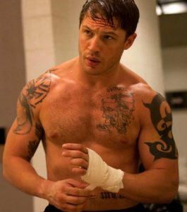 tom hardy topless
